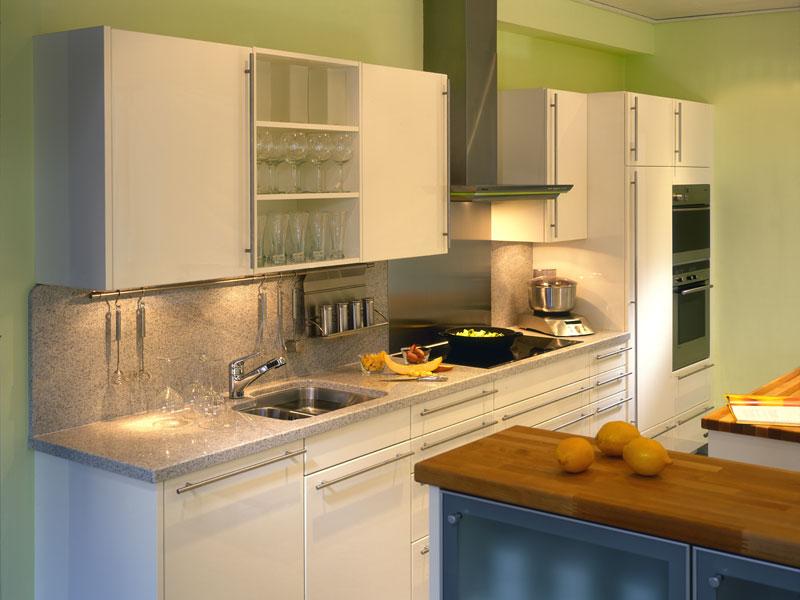 die arbeitsplatte aus naturstein - mittelpunkt der küche - Naturstein In Der Küche